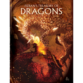 Dungeons & Dragons Next Fizban's treasury of Dragons Alt Cover