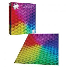 """""""Gradient Cubes"""" 1,000-Piece Puzzle"""