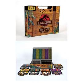 Jurassic Park Bid to Win Trivia - Boardgame