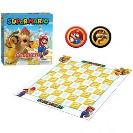 Super Mario™ vs Bowser Checkers - Boardgame