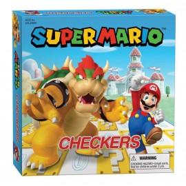 Super Mario™ vs Bowser Checkers International - Boardgame
