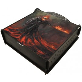 E-Raptor Trading Card Storage Ultimate Box- Fire Revenant