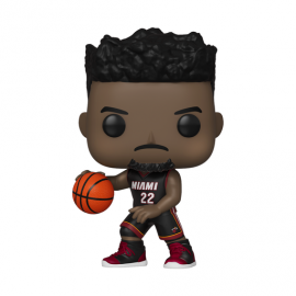 NBA:119 Miami Heat- Jimmy Butler (Black Jersey)