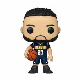 NBA:121Denver Nuggets -Jamal Murray (Dark Blue Jersey)