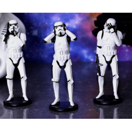 The 3 wise stormtroopers (14 cm )