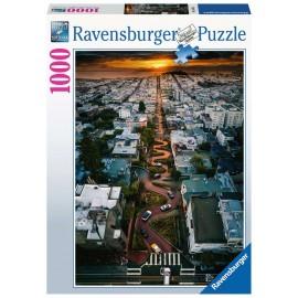 Lombard Street , San Francisco 1000 pieces Puzzle