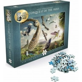 David Attenborough's Conquest of the Skies 1,000 piece puzzle + DVD