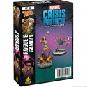 Marvel Crisis Protocol Gambit and Rogue- miniatures