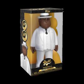 """Vinyl Gold 12"""": Biggie Smalls - White Suit"""