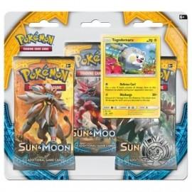 Pokémon Ex Sun & Moon Blister (3p) Eng