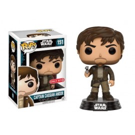 Star Wars 151 POP - Rogue I - Captain Cassian Brown Jacket LTD