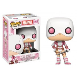 Marvel 197 POP - Gwenpool Masked with Sword