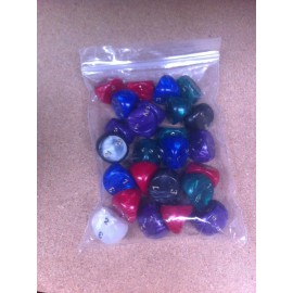 D3 Bag Pearl Dice (25)
