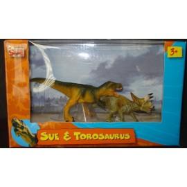 Sue T-Rex and Toro Gift Set