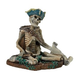 Pirate Skeleton with Map