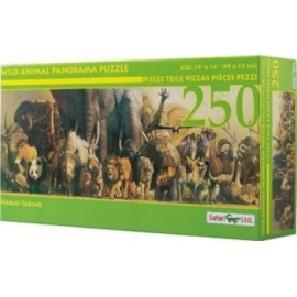 Wild Animal Panoramic Puzzle
