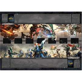 Warhammer 40K Conquest LCG Unending War Two-player Gamemat