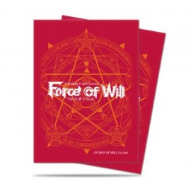 Force of Will Red card back Deckprotector sleeves (65p)