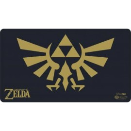 The Legend of Zelda Black & Gold Play Mat with tube