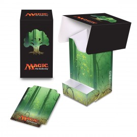 MTG Mana 5 Forest Deck Box with tray