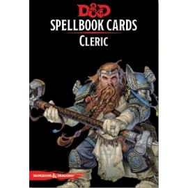 Dungeons & Dragons Spellbook cards Cleric (149 cards)