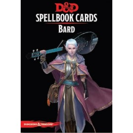 Dungeons & Dragons Spellbook cards Bard (128 cards)