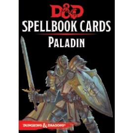 Dungeons & Dragons Spellbook cards Paladin (69 cards)