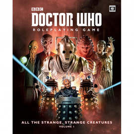 Dr Who RPG All the Strange Strange Creatures