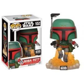 Star Wars 102 POP - Boba Fett Jet Pack LIMITED