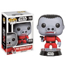 Star Wars 70 POP - Red Snaggletooth LIMITED