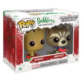Marvel POP - Christmas Groot & Rocket Racoon 2-pack LIMITED