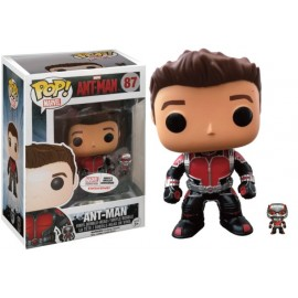 Marvel 87 POP - Unmasked Ant-Man with mini Fig LIMITED