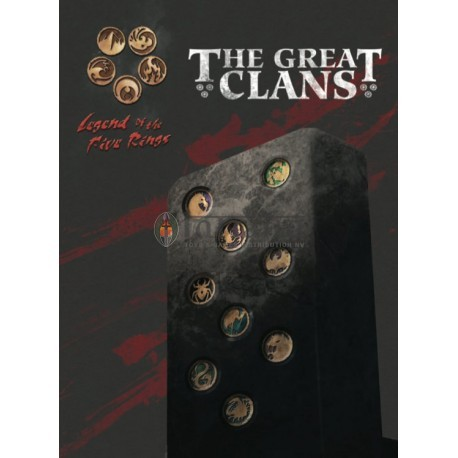 L5R RPG The Great Clans