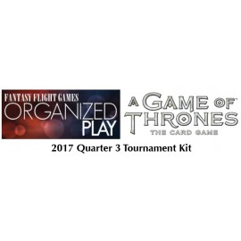 A Game of Thrones 2nd ed LCG 2017 Q3 Tournament Kit