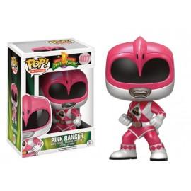 Television 407 POP - Power Rangers - Metallic Pink Ranger LIMITED