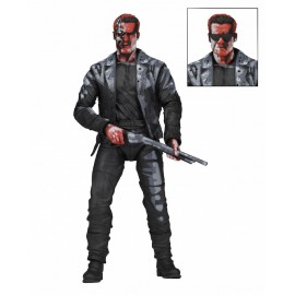 """Terminator 2 - Action Fig 7"""" T-800 Video Game Appearance"""