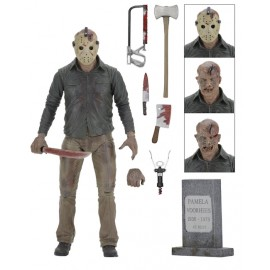 "Friday the 13th 7"" Action Figure The Final Chapter Jason"