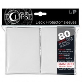 Pro Matte Eclipse White Standard Sleeves 80ct