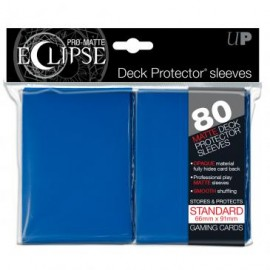 Pro Matte Eclipse Blue Standard Sleeves 80ct