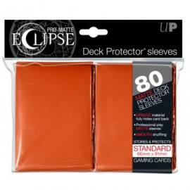 Pro Matte Eclipse Orange Standard Sleeves 80ct