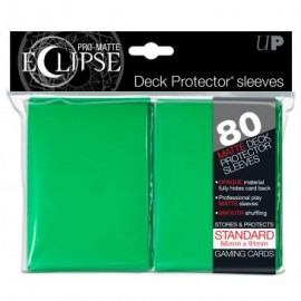Pro Matte Eclipse Green Standard Sleeves 80ct