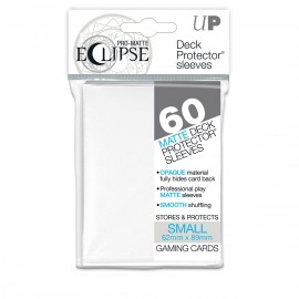 Pro Matte Eclipse White Small size Sleeves 60ct