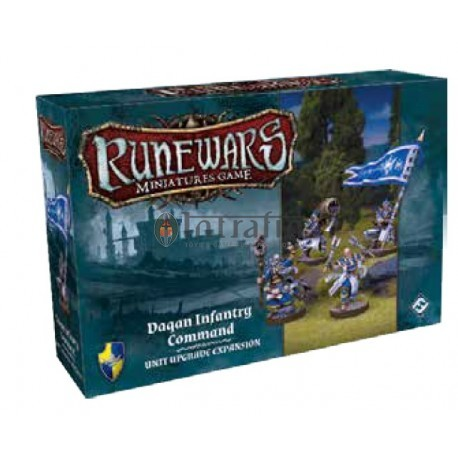 Runewars Miniatures Games: Daqan Infantry Command Expansion Pack