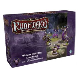 Runewars Miniatures Games: Waiqar COmmand Expansion Pack