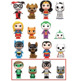 Mystery Mini Figures Display - DC - Heroes and Pets LIMITED (12)