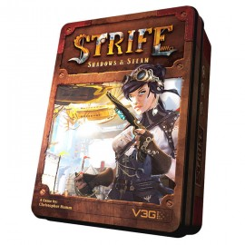 Strife: Shadows & Steam (Card Game in Custom Tin)