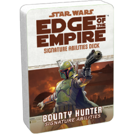 Star Wars: Edge of the Empire: Bounty Hunter Signature Abilities Deck