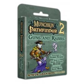 Munchkin Pathfinder 2 guns and razzes