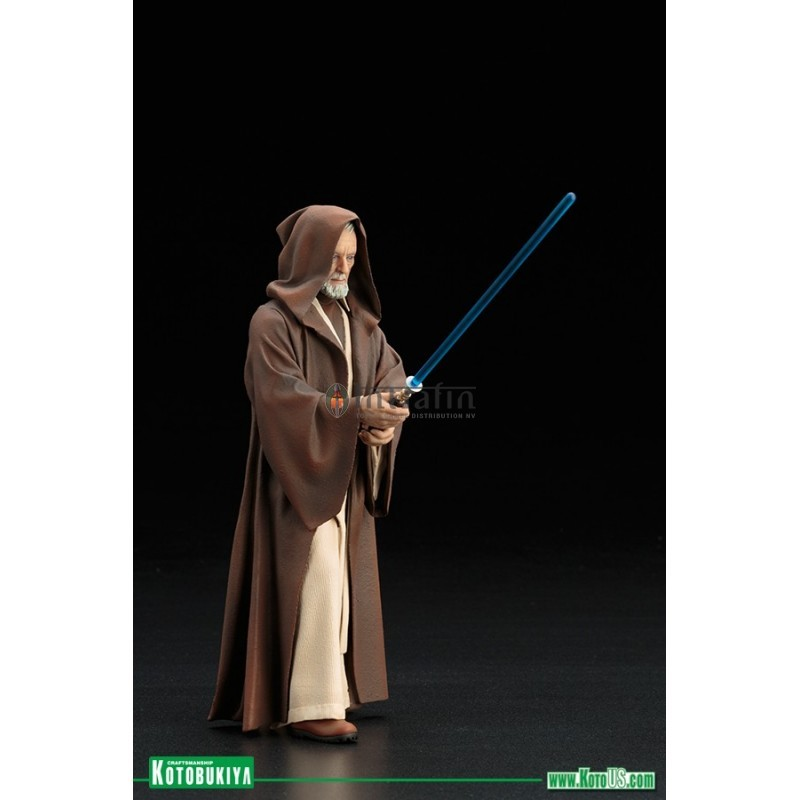 star wars obi wan kenobi pre painted pvc easy to assemble statue. Black Bedroom Furniture Sets. Home Design Ideas