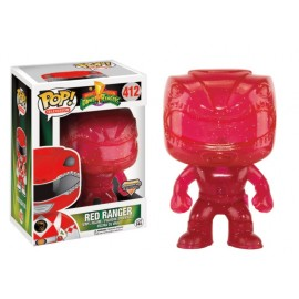 Television 412 POP - Power Rangers - Red Ranger Morphing LIMITED